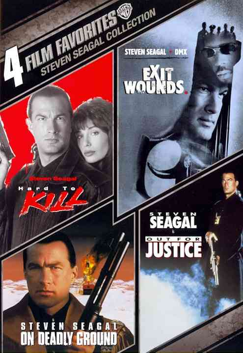 4 FILM FAVORITES:STEVEN SEAGAL ACTION BY SEAGAL,STEVEN (DVD)